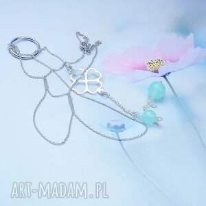 ciekawe naszyjniki modny srebrny naszyjnik