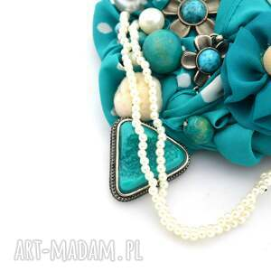 unikalne naszyjniki naszyjnik morska bryza handmade