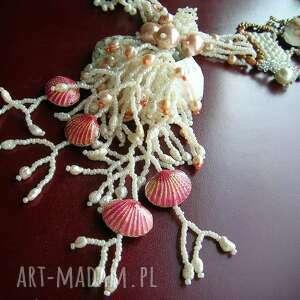 handmade naszyjniki kolia morskie opowieści -