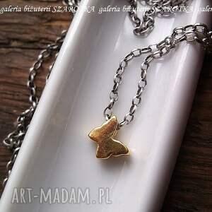 handmade naszyjniki motyl motylem jestem minimalistyczny