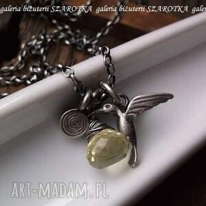 srebro naszyjniki najsłodszy nektar naszyjnik