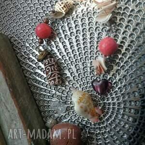intrygujące naszyjniki naszyjnik ceramika koraliki duzy