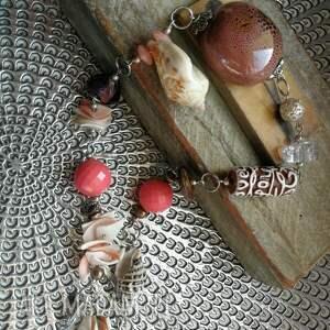 etno naszyjniki naszyjnik ceramika koraliki duzy