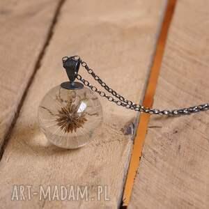 intrygujące naszyjniki żywica naszyjnik długi z dmuchawcem no. 1