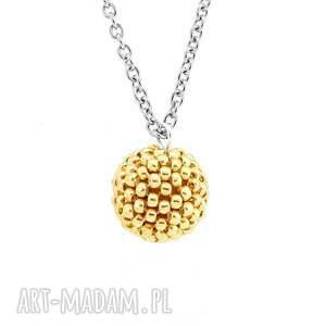 naszyjniki elegancki naszyjnik glamour - silver & gold
