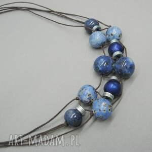 urokliwe naszyjniki metal naszyjnik królewski niebieski