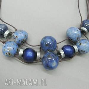 metal naszyjniki naszyjnik królewski niebieski