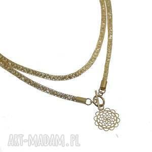 złote naszyjniki naszyjnik długi wykonany w całości ze srebra