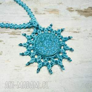 handmade naszyjniki ze-sznurka naszyjnik maroko w przepięknych