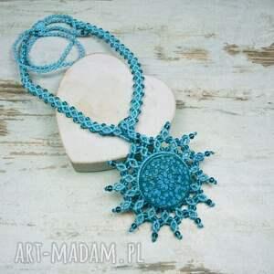 naszyjniki ze-sznurka naszyjnik maroko w przepięknych