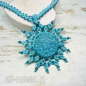 ze-sznurka naszyjniki naszyjnik maroko w przepięknych