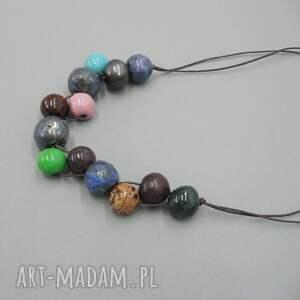 ręcznie robione naszyjniki biżuteria naszyjnik morska głębia