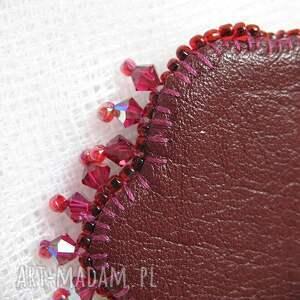 naszyjnik naszyjniki różowe - różowy jaspis