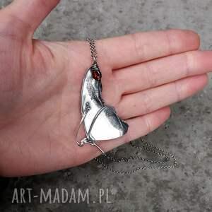 motyl naszyjniki srebrne naszyjnik srebrny z motylem