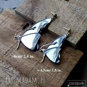 intrygujące naszyjniki z kamieniem naszyjnik srebrny z motylem