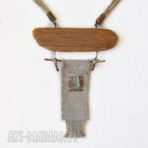 naszyjnik talizman - len