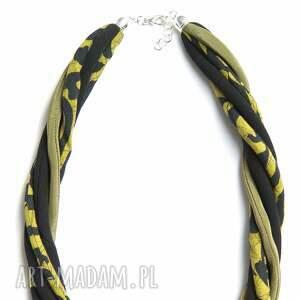 materiałowy naszyjniki naszyjnik tekstylny, długi