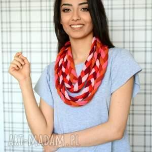 naszyjnik warkocz color sheyk bawełna