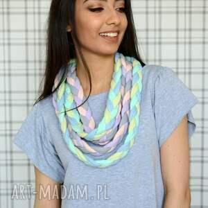 eleganckie naszyjniki bawełna naszyjnik warkocz color sheyk