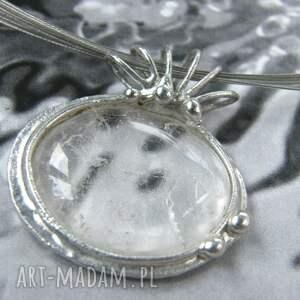 handmade naszyjniki wisiorek z-kamieniem naszyjnik: z gładkim kryształem