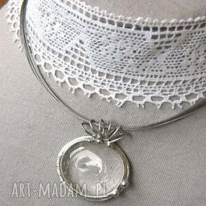 wisiorek z-kamieniem naszyjniki naszyjnik: z gładkim kryształem