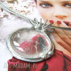 naszyjniki wisiorek z-kamieniem naszyjnik: z gładkim kryształem