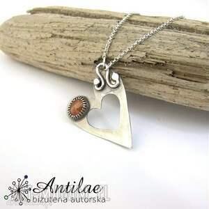 sunstone naszyjniki naszyjnik z kamieniem słonecznym