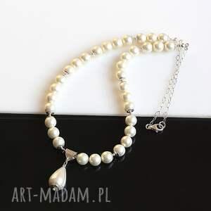 hand made naszyjniki perły naszyjnik z pereł seashell