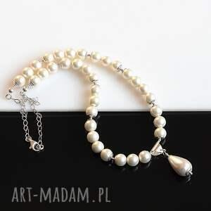 naszyjniki sea shell naszyjnik z pereł seashell