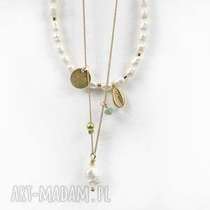 nietypowe naszyjniki perła naszyjnik z perłą