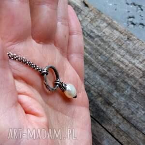 naszyjniki z-perłą naszyjnik z perłą - srebro 925