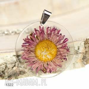 naszyjniki naszyjnik-z-kwiatem naszyjnik z prawdziwym kwiatem 1322