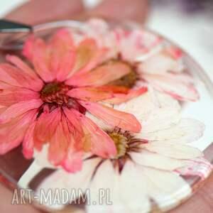 ręcznie robione naszyjniki naszyjnik z-kwiatów z prawdziwym kwiatem z61