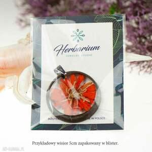 wyjątkowe naszyjniki prezent dla kobiety naszyjnik z prawdziwymi kwiatami