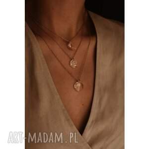 modne naszyjniki naszyjnik z różowego złota