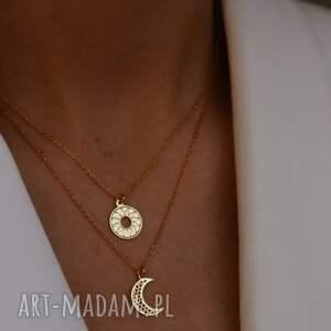 naszyjniki naszyjnik z różowego złota