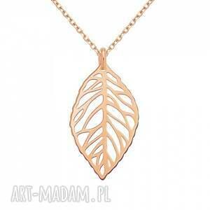 ręcznie wykonane naszyjniki modny naszyjnik z różowego złota