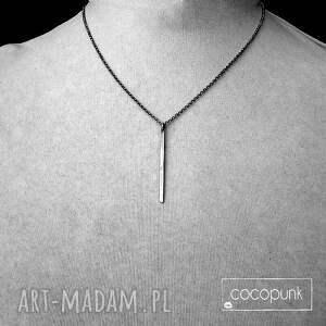 naszyjniki delikatny naszyjnik z soplekiem - srebro pr