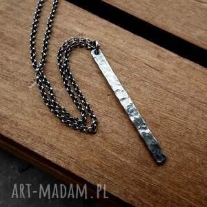 naszyjniki modny naszyjnik z soplekiem fakturowanym