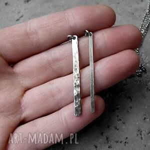 naszyjniki komplet naszyjnik z soplekiem - srebro pr
