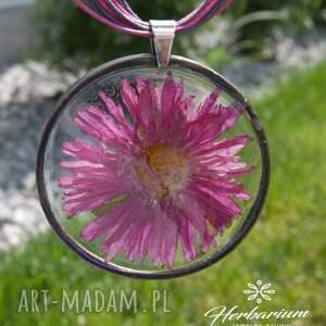 unikalne naszyjnik z-kwiatów z suszonym kwiatem wzór