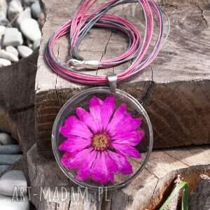 ręcznie robione naszyjniki naszyjnik z-kwiatów z suszonym kwiatem wzór