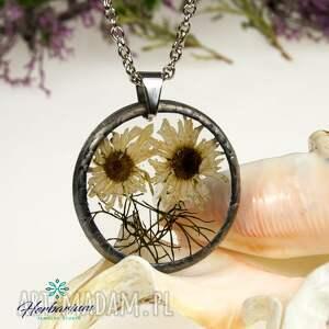 nietuzinkowe naszyjniki naszyjnik z suszonymi kwiatami