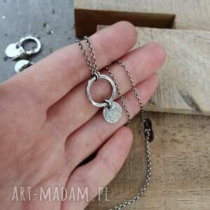 naszyjniki srebro-oksydowane naszyjnik z zawieszką srebro 925