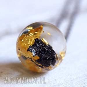 naszyjniki złoto naszyjnik z żywicy węglikiem