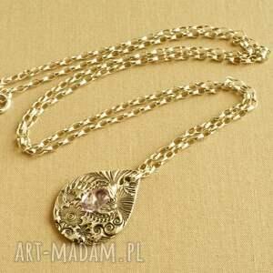 naszyjniki kobiecy naszyjnik ze srebrną kroplą