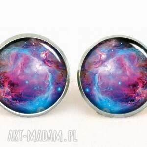 naszyjniki galaktyka nebula - medalion z łańcuszkiem