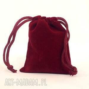 czerwone naszyjniki nebula - medalion z łańcuszkiem