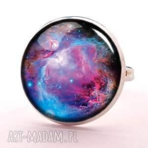 nebula naszyjniki - medalion z łańcuszkiem