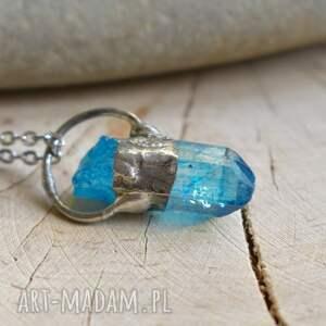 naszyjniki wisior kryształ naszyjnik stworzony od podstaw ręcznie